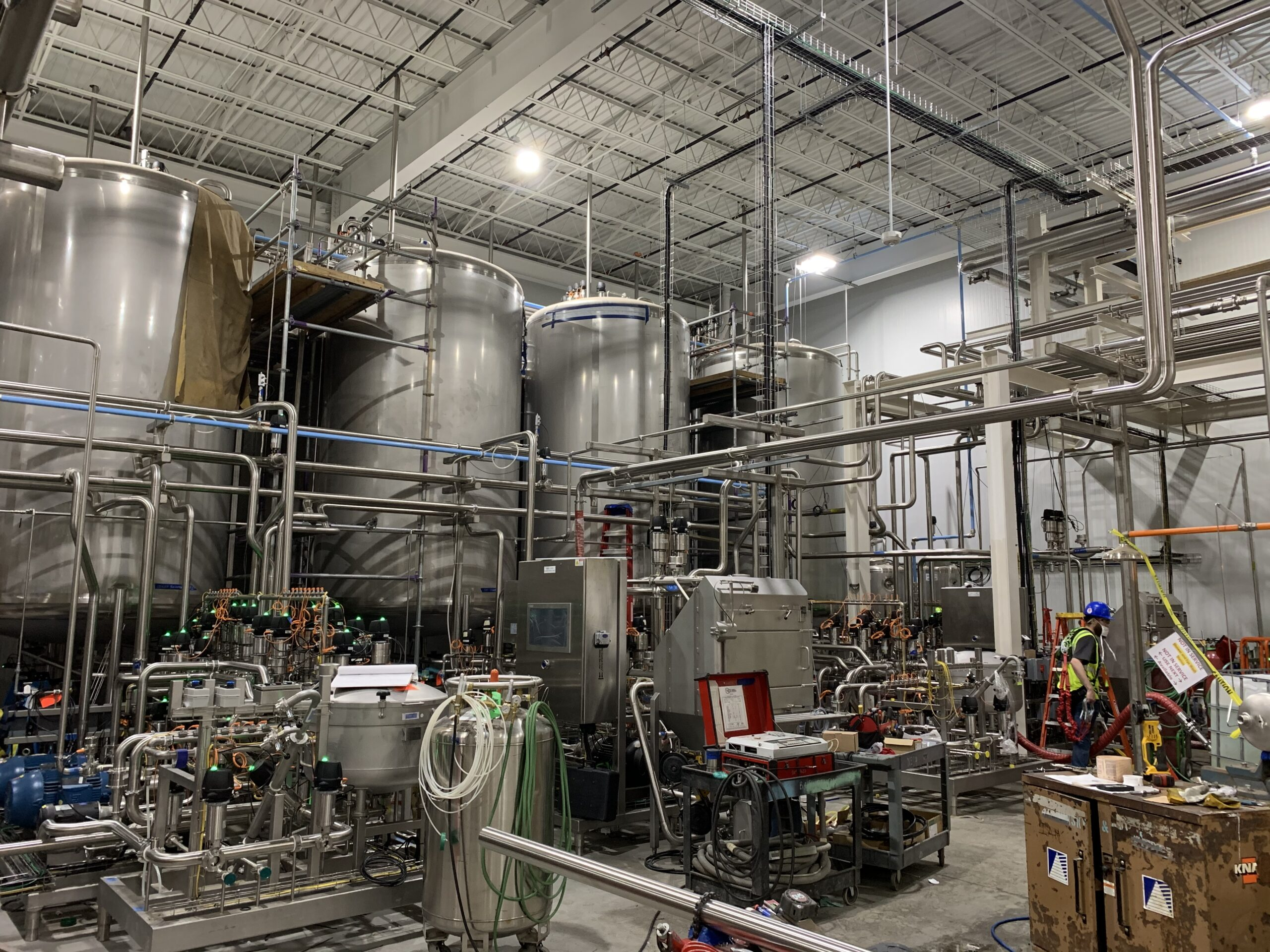 White Claw Brewing Facility